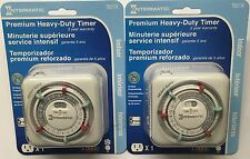 2 Pk Intermatic TN311K 15 Amp Heavy Duty 3 On/Off Setting Grounded Indoor Timer