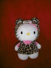 Doudou H&M H ET M Peluche Chat Hello Kitty Déguisé en Panthère 18 cm