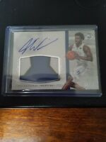 JUSTISE WINSLOW NATIONAL TREASURES ROOKIE 3 CLR PATCH AUTO. SSP 4/10. RARE!!!
