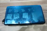 Nintendo 3DS Console Aqua Blue w/touch pen Japan x26