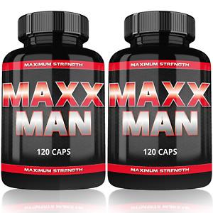 2x MaxxMan un Testostérone Booster Musculation Extrème Anabol Hormon Booster