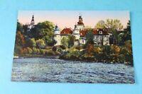 Glatz Klodzko Minoritenkloster + Blick nach dem Donjon - AK wohl 1930er J.  /S95