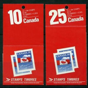 Canada Booklet BK112(open) & 115(Close) Flag MNH