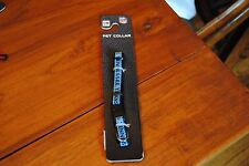 New size S Pet Dog Collar  NFL TENNESSEE TITANS FOOTBALL Team Navy Blue 3/8""