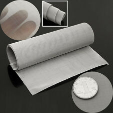 100mesh Stainless Steel Woven Wire Filtration Grill Sheet Fine Filter 30 x 90cm