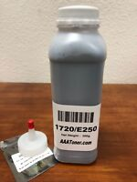 (200g) Toner Refill for Dell 1720, 1720n, 1720dn Lexmark E250 Printer + Chip