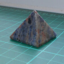 Auction Sodalite Pyramid Gemstone Crystal 27mm