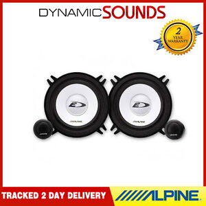 "ALPINE SXE-1350S 5.25"" 13cm 500 Watts Car Van Mids & Tweeter Component Speakers"