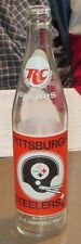 1974 Pittsburgh Steelers Royal Crown Cola Empty 16 oz. Bottle in exc. condition.