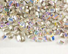 Full Package Swarovski Crystal AB Color 6X4MM Octagon Rhinestones #4600