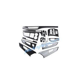 15PCS ABS Carbon Fiber Style Car Interior Kit Cover Trim For Audi A5 2017-2019