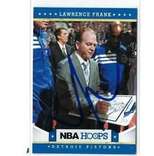 2012-13 HOOPS #92 LAWRENCE FRANK AUTO AUTOGRAPHED CARD SIGNED W/COA PISTONS