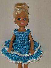 Handmade Chelse/Kelly mattel doll clothes - Bright Blue