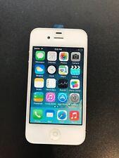 Apple iPhone 4 (Verizon) - GOOD Condition & Clean ESN - 8GB White (Black back)