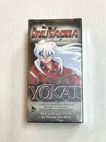 INUYASHA TENSEI YOKAI TCG 1ST FIRST EDITION FACTORY SEALED (12) PACK BOOSTER BOX