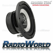 "Ground Iridium GZIW 200X Zero 8"" SUB SUBWOOFER BASS CAR AUDIO 150 W 20 cm"