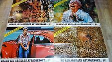 QUAND LES ABEILLES ATTAQUERONT the savage bees   ! les 4 affiches cinema  1976