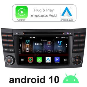 """7"""" Android 10.0 Für Mercedes Benz CLS E-Class W211 W219 Autoradio GPS WIFI SWC"""