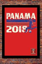 2018 World Cup Soccer Russia   TEAM PANAMA Poster   13 x 19 Inches