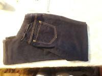 Energie Blue Jeans Elastic Waist Womens Size L USED Closet354
