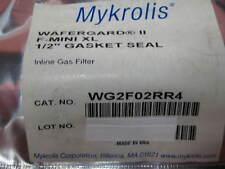 WG2F02RR4, MYKROLIS; WAFERGARD II, GAS FILTER, NEW IN FACTORY PACKAGE, 1EACH