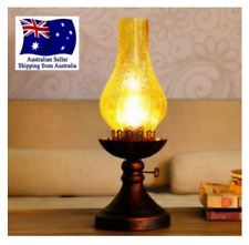 Traditional  Antique/Vintage/rustic style Table Study Bedside Lamp light lantern