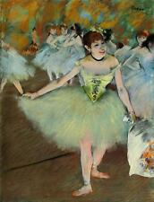 Edgar Degas canvas print On the stage giclee 8X12&12X17