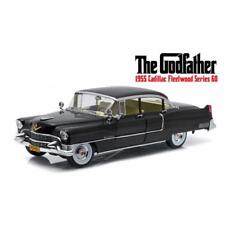 The Godfather 1955 Cadillac Fleetwood Series 60 1:18 Scale Green Light 12949