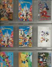 Lot of 27 DISNEY UN-USED Phone Cards  TELECA & NTT Japan   50 units each