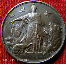MED3224 - MEDAILLE SOCIETE PROTECTIONS DES ANIMAUX A PARIS 1901 - FRENCH MEDAL