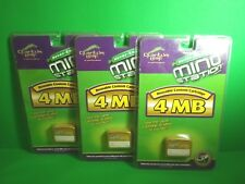 Quantum Leap Mind Station 4Mb Gold Reusable Content Cartridge (Lot Of 3)