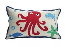 JIGGLE AND GIGGLE SEA CREATURES CUSHION. NEW.