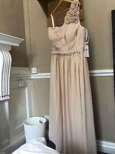 Dusty Pink : Champagne Bridesmaid Dress Size 22 New With Tags