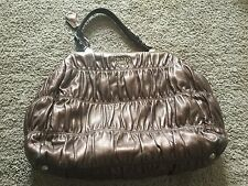 Authentic Prada Metallic Nappa Gaufre Handbag