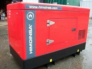 generator Himoinsa HYW9 9kva single phase Yanmar new machine £5450.00 + vat