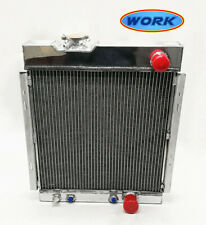 Fit to FORD MUSTANG V8 260 289 AT MT1964-1966 1965 aluminum radiator 56mm