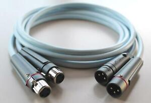 Supra Cables EFF IXL Stereo Audiokabel mit Swift XLR Stecker 1m