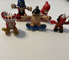 Lot Of 5 Tech Deck Dudes Figures  And 3 Boards For Sale