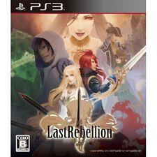Used PS3 Last Rebellion Japan Import
