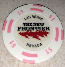 The New Frontier $1 Casino Chip Las Vegas Nevada 2.99 Shipping