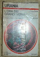 URANIA 808 DICK NELSON - L'ORA DEI GRANDI VERMI - ANNO:1979 NUOVO CELOFANATO LS
