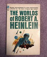 Robert A. Heinlein THE WORLDS OF ROBERT HEINLEIN - 1st ed. (1966) RARE SF TITLE