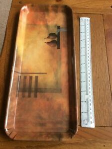 """Brown Melamine Tray....6 X 15 """" Approx"""