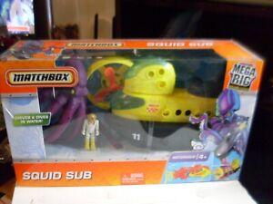 Mattel Matchbox Mega Rig Squid Sub 2010