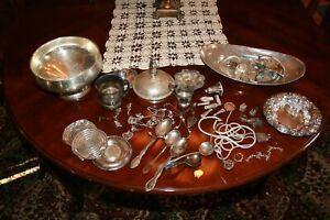 Scrap Sterling Silver 925 1299.4 grams