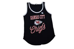 Junk Food Womens NFL Kansas City Chiefs Tank Top Shirt New