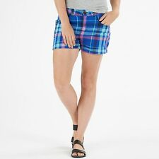 Adidas Womens Neo Check Shorts UK Size 28 inch