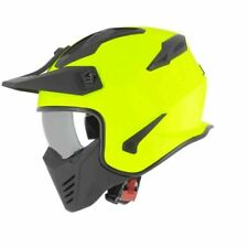 Casco Astone ELEKTRON monocolor orange Arancione M