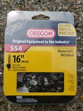 "Oregon chainsaw chain 16"" S54"