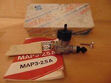 vintage ussr MARZ 2.5 cc airplane modeling c/l engine map3 diesel compression